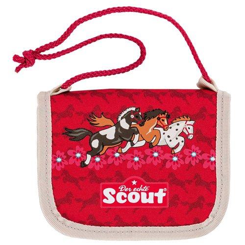 Scout 25190074600 Fahrausweishülle, 13 cm, Rot