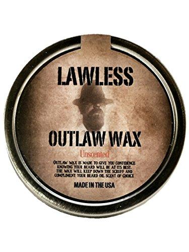 Beard Wax Lawless Organic mustache product image