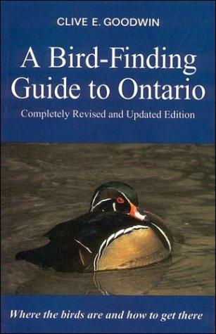 A Bird-Finding Guide to Ontario