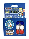 PUTTY BUDDIES Floating Earplugs 3-Pair Pack - Soft Silicone Ear Plugs for Swimming & Bathing - Invented by Physician - Block Water- Premium Swim Earplugs - Doctor Recommended - Easy to Use