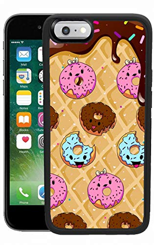 Robby Harry iPhone 6 Plus iPhone 6S Plus Case Donut Dessert Reinforced Drop Protection Hard PC Back Flexible TPU Bumper Protective Case