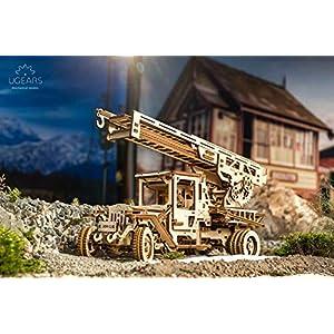 Ugears Mechanical Model Fire Ladder