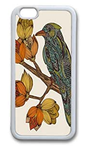 Apple Iphone 6 Case,WENJORS Adorable Bravebird Soft Case Protective Shell Cell Phone Cover For Apple Iphone 6 (4.7 Inch) - TPU White