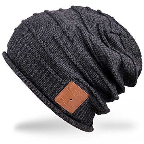 dd619e3b0c8 Mydeal Adult Unisex Trendy Soft Warm Bluetooth Beanie Hat Short Music Cap  with Wireless Headphone Headset Speaker Mic Hands-free