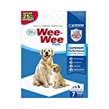 """Wee-Wee Puppy Training Pee Pads 7-Count 22"""" x 23"""" ..."""