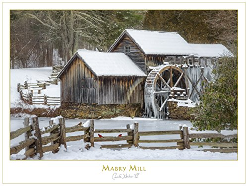 Mabry Mill, Blue Ridge Parkway Print by Carl Heilman II, 18