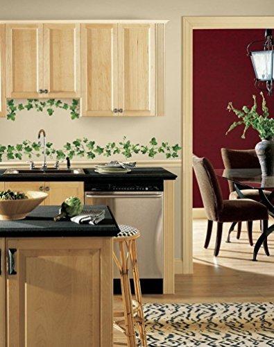 Lunarland IVY PAINTERLY 14 BiG Wall Decals Leaf VINES Kitchen Room Decoration Stickers R2