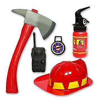 amazon com roto 1 set of kids firefighter toys simulation fire