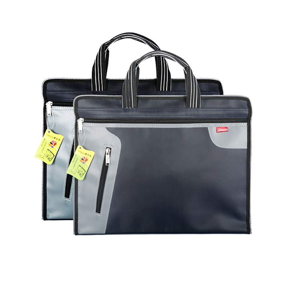 0544625eba ENCOCO Business Documenti Borsa Cerniera Impermeabile ventiquattrore  Ufficio Borsetta Book File Storage Bag, File, Cartella Portadocumenti  Notebook ...