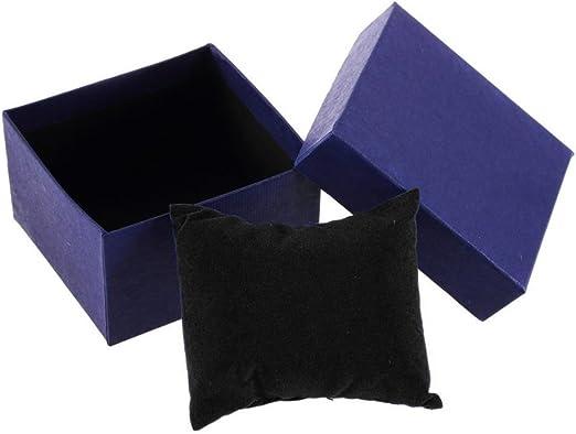 Caja de regalo de cartón para pulsera, anillo, joyería, pendientes ...