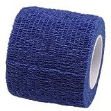 Pet Bandaging Tape Fabric Adhesive, Dog Cat Bandages (Light Blue)