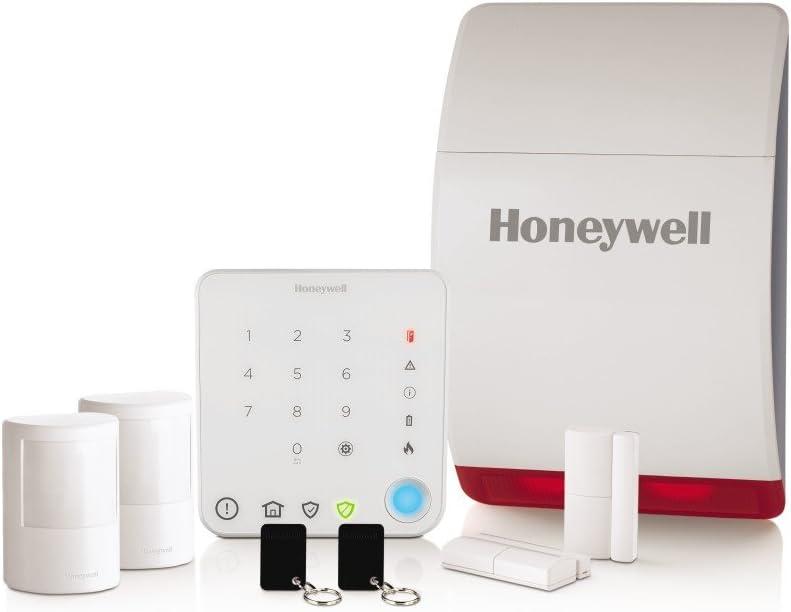 Honeywell Home Pack Alarme sans fil pour maison Smart Security HS331S