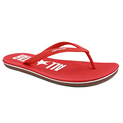 b2f2f1483f2765 Converse Sandstar 129574 Womens Rubber Flip Flops Red - 7  Amazon.co.uk   Shoes   Bags