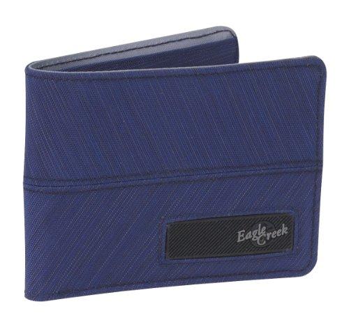 UPC 053329143378, Eagle Creek Curbside Bi-Fold Wallet, Pacific Blue Stratus