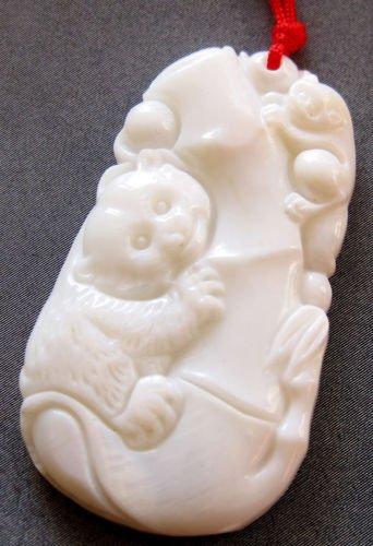 DoComer(TM) Sea Shell Lucky Bamboo Panda Squirrel Pendant ()