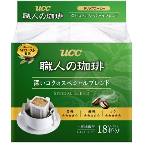 - UCC craftsman of coffee drip coffee deep richness of the special blend 18P