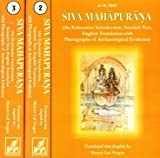 Siva Mahapurana (An Exhaustive Introduction, Sanskrit Text, English Translation with Photographs of Archaeological Evidence) 3 Volume Set