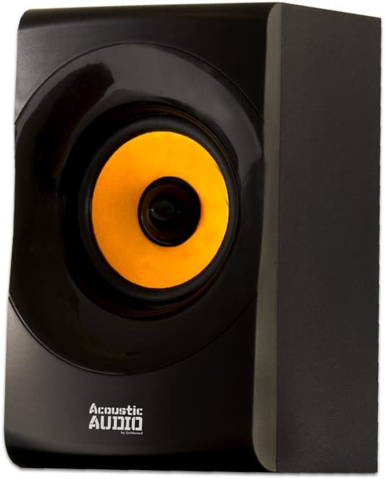 Acoustic Audio AA5170 Home Theater 5.1 Bluetooth Speaker System with FM and 5 Extension Cables