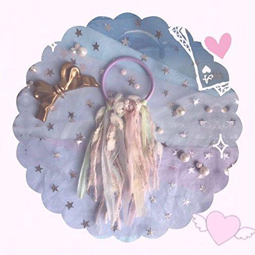 - 38 Japanese Meng Deparent of lovely hand made girls feel cabbage price macarons fringed hair ring for women girl lady