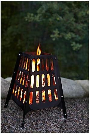 IKEA Fire Pit, al aire libre, Negro 226.20826.3834: Amazon.es ...