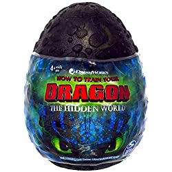 """Toothless with Blue Stripes How to Train Your Dragon The Hidden World Plush Figure 3"""" Factory Sealed"""