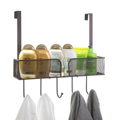 bino-lexington-over-the-door-basket-with-hooks-bronze