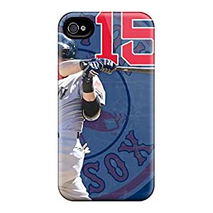 Awesome Boston Red Sox Flip Case With Fashion Design For Iphone 4/4s