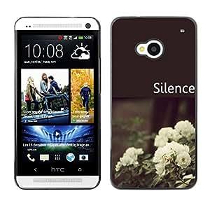 Dragon Case - FOR HTC One M7 - Believe me - Caja protectora de pl??stico duro de la cubierta Dise?¡Ào Slim Fit
