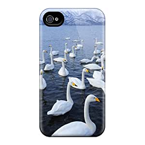 Top Quality Protection Nature Swans Cases Covers For Iphone 6