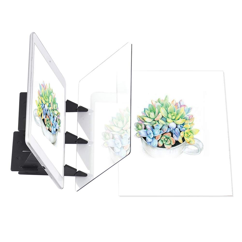 xnbnsj Optical Imaging Copying Drawing Board Optical Picture Books Painting Sketch Board