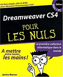 Dreamweaver CS4 pour les Nuls