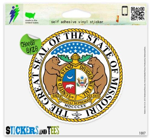 - Missouri State Seal Car Sticker Indoor Outdoor 4