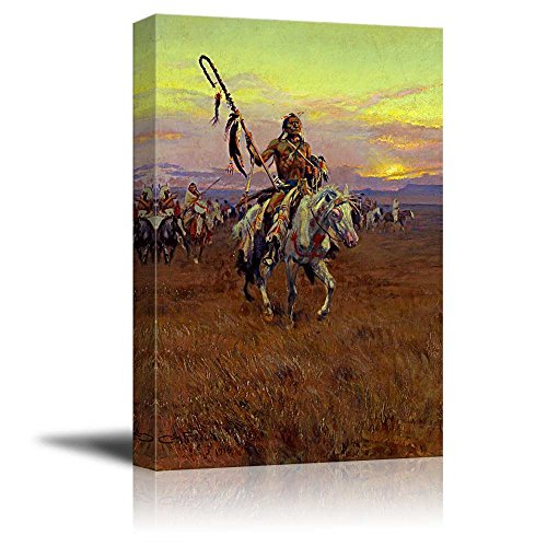 Medicine Man by Charles Marion Russell Print Famous Painting Reproduction