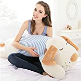 Skylofts Stylish Cute 75cm Stuffed Pillow Cushion for Baby Kids Soft Toy Birthday Gift (White)