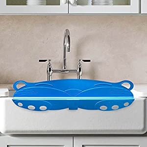 Splash guardian effective splash guard with for Splash guard kitchen sink