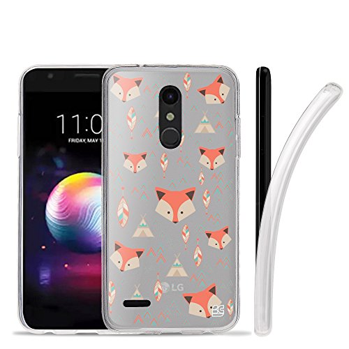 (LG K30 Case, LG Premier Pro Case, Beyond Cell Frosted Clear Flexible Soft TPU Gel Skin Protective Cover For LG K10 (Released 2018) -)