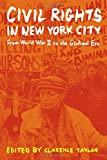 img - for Civil Rights in New York City: From World War II to the Giuliani Era book / textbook / text book