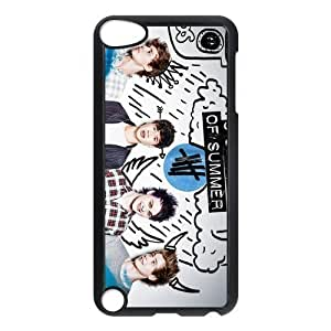 Custom Design - 5 Second of Summer 5sos Hard Soft Compound Plastic Case Skin Cover For iPod Touch 5th (WCA Designed)