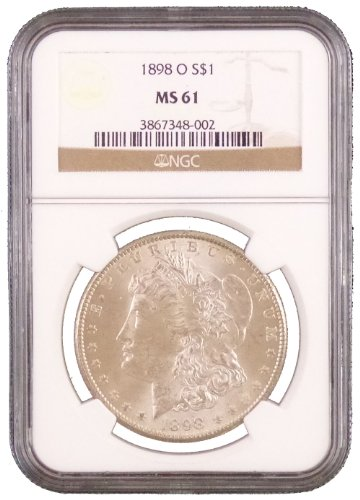1898 O Morgan Dollar NGC MS-61
