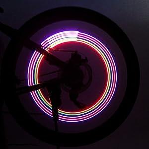 Bike Lights / Wheel Lights / Valve Cap Flashing Lights LED Cycling Lumens Battery Cycling/Bike-Lights
