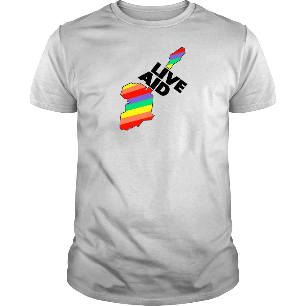 Live Aid Shirt Rock Concert 1985 Premium T Shirt