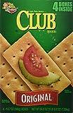 Keebler Original Club Crackers Four 13.7 oz. Boxes