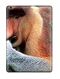 Awesome Monkey Flip Case With Fashion Design For Ipad Air