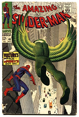 AMAZING SPIDER-MAN #48 comic book-1967 MARVEL COMICS SILVER-AGE bargain