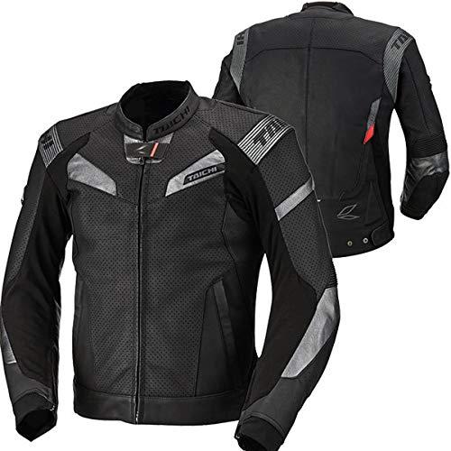 RS Taichi GPX Raptor Leather Jacket - RSJ833 (48 Euro/Medium) (Black)