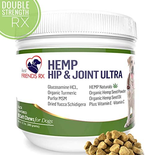 Hemp Supplement Separation Glucosamine Oil Infused product image