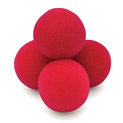Bristol Novelty MC022 Goshman Sponge Ball, Red, One Size ()