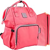 Best Diaper Bags For Moms - Baby Bag Backpack for Travel and Portable Changing Review