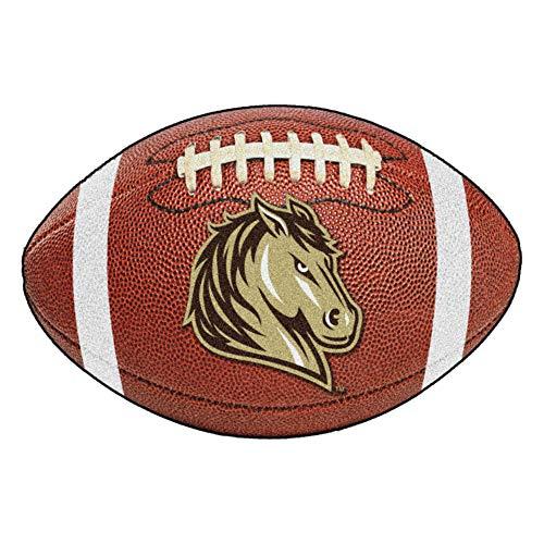 FANMATS NCAA Southwest Minnesota State University Mustangs Nylon Face Football Rug