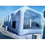 Inflatable Spray Booth Custom Tent Car Paint Booth Inflatable Car (20x10x8Ft)